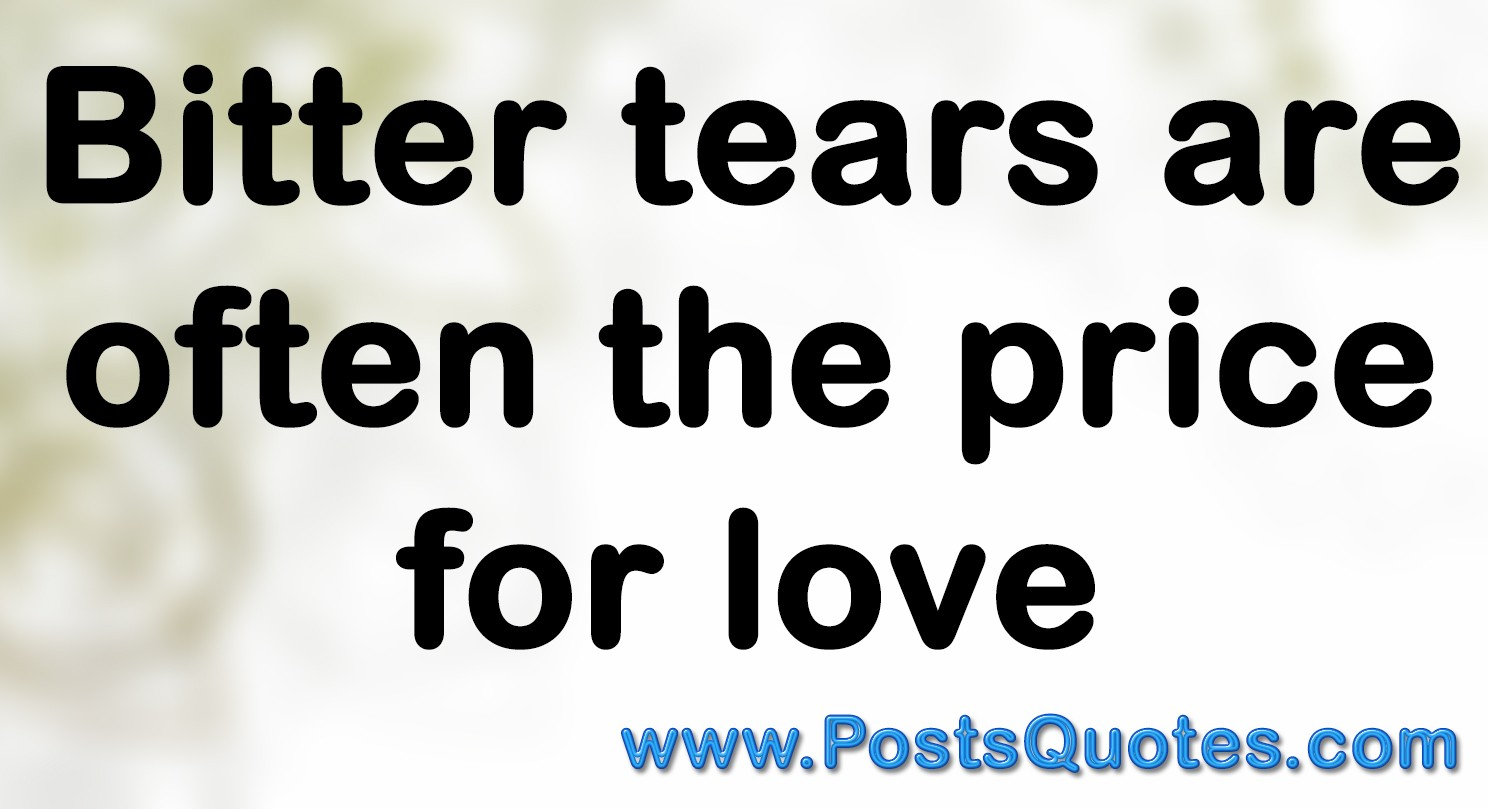 Quotes of The Day love