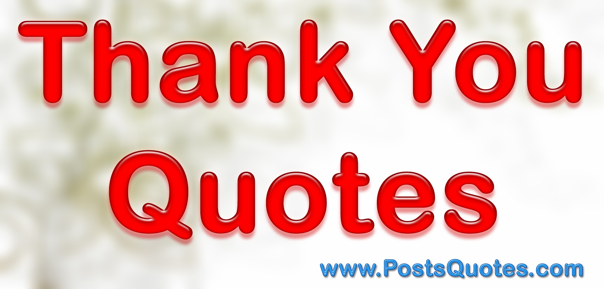 50 Thank You Quotes